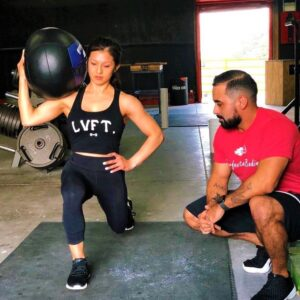 perfected bodies, personal training workout session